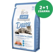 Brit Care Cat Daisy I´ve to control my Weight 400 g 2+1 ZDARMA