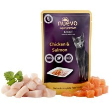 Nuevo Cat kapsička Adult Chicken & Salmon 85 g
