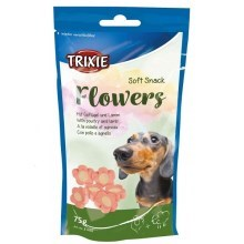 Trixie Soft Snack Flowers Light jehněčí/kuřecí 75 g
