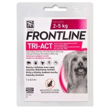 Frontline Tri-Act spot-on pro psy XS (2-5 kg)