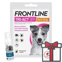 Frontline Tri-Act spot-on pro psy S (5-10 kg)
