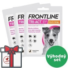 Frontline Tri-Act spot-on pro psy SET 3x S (5-10 kg)