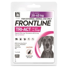 Frontline Tri-Act spot-on pro psy L (20-40 kg)