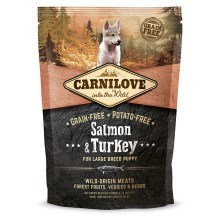 Carnilove Dog Salmon&Turkey for LB Puppies 1,5 kg
