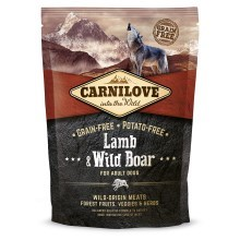 Carnilove Dog Lamb&Wild Boar for Adult 1,5 kg