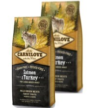 Carnilove Dog Salmon&Turkey for LB Adult Duo Pack 2x12 kg