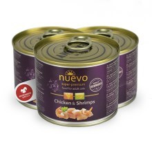 Nuevo Cat konzerva Adult Chicken & Shrimps 200 g