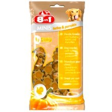 Pochoutka 8in1 Minis turkey & pumpkin 100 g