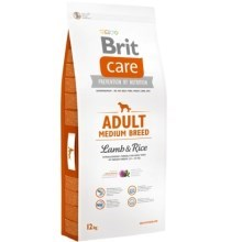 Brit Care Dog Adult Medium Breed Lamb & Rice 12 + 2 kg ZDARMA