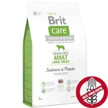 Brit Care Dog Grain-free Adult LB Salmon & Potato 3 kg