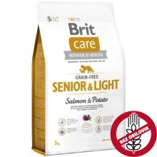 Brit Care Dog Grain-free Senior & Light Salmon & Potato 3 kg