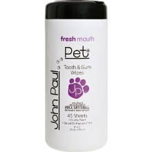 John Paul Pet Tooth & Gum Wipes vzorek