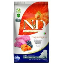 N&D GF Pumpkin Dog Adult Mini Lamb&Blueberry 2,5 kg