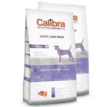 Calibra Dog HA Junior Large Breed Chicken Duo Pack 2 x 14 kg