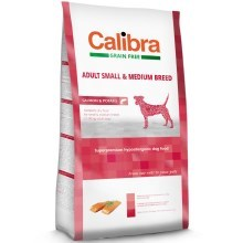 Calibra Dog GF Adult Medium & Small Salmon 12 kg