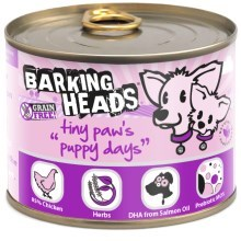 Konzerva Barking Heads Tiny Paws Puppy Days 200 g