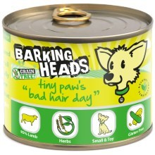 Konzerva Barking Heads Tiny Paws Bad Hair Day 200 g