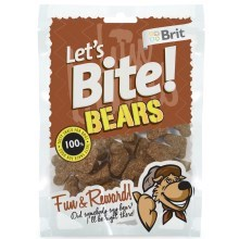 Brit pochoutka Let's Bite Bears 150 g
