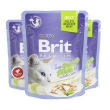 Brit Premium Cat Fillets in Jelly with Trout 85 g