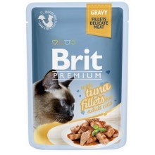Brit Premium Cat Fillets in Gravy with Tuna 85 g