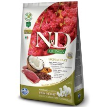 N&D GF Quinoa Dog Skin & Coat Duck & Coconut 7 kg
