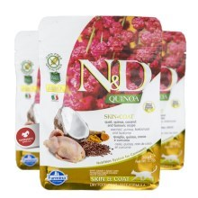 N&D GF Quinoa Cat Skin & Coat Quail & Coconut 300 g