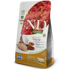 N&D GF Quinoa Cat Skin & Coat Quail & Coconut 1,5 kg