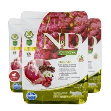N&D GF Quinoa Cat Urinary Duck & Cranberry 300 g