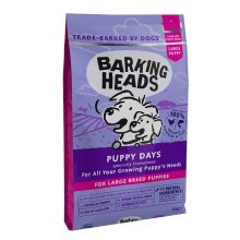 Barking Heads Puppy Days Large Breed 12 kg