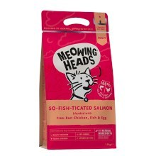 Meowing Heads So-fish-ticated Salmon 450 g