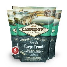 Carnilove Fresh Adult Dog Carp & Trout 1,5 kg