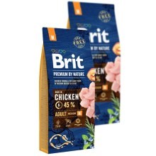 Brit Premium by Nature Adult M Duo Pack 2x 15 kg
