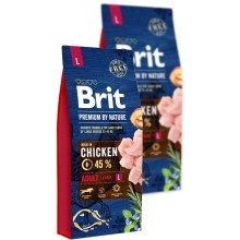Brit Premium by Nature Adult L SET 2x 15 kg