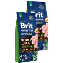 Brit Premium by Nature Adult XL Duo Pack 2x 15 kg