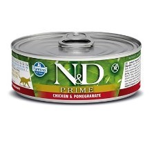 N&D Cat Prime konzerva Adult Chicken & Pomegranate 80 g