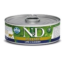 N&D Cat Prime konzerva Adult Lamb & Blueberry 80 g