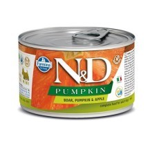 N&D Dog Pumpkin konzerva Adult Boar & Apple Mini 140 g