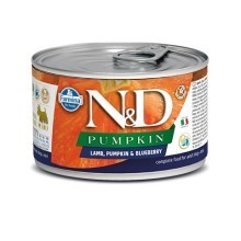 N&D Dog Pumpkin konzerva Adult Lamb & Blueberry Mini 140 g