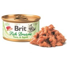 Brit konzerva Fish Dreams Tuna & Squid 80 g