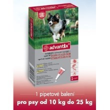 Advantix Spot On 1x2,5 ml pro psy 10-25 kg