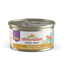 Konzerva Almo Nature Daily Menu Cat pěna s kuřetem 85 g