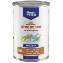 Konzerva Almo Nature 100% Single Protein telecí 400 g