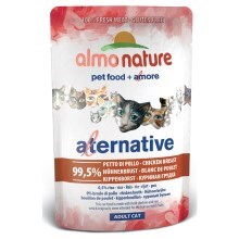 Almo Nature Cat Alternative Wet kuřecí prsa 55 g