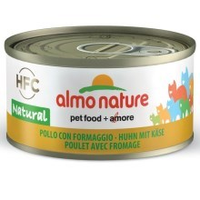 Almo Nature HFC Cat kuře a sýr 70 g