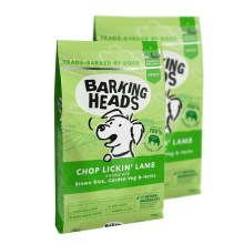 Barking Heads Chop Lickin' Lamb Duo Pack 2 x 12 kg