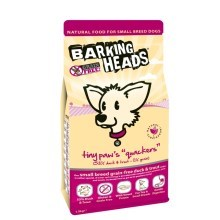 Barking Heads Tiny Paws Quackers Grain Free 40 g - vzoreček