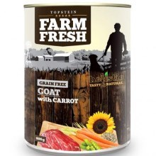 Farm Fresh konzerva Goat & Carrots 400 g