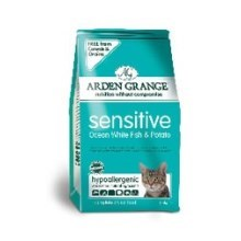 Arden Grange GF Cat Adult Sensitive Ocean White Fish & Potato 2 kg