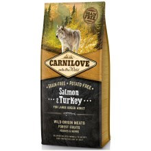 Carnilove Dog Salmon&Turkey for LB Adult 12 kg