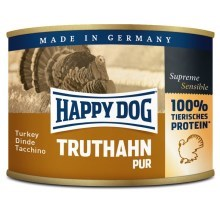 Happy Dog Premium konzerva Truthahn Pur 400 g